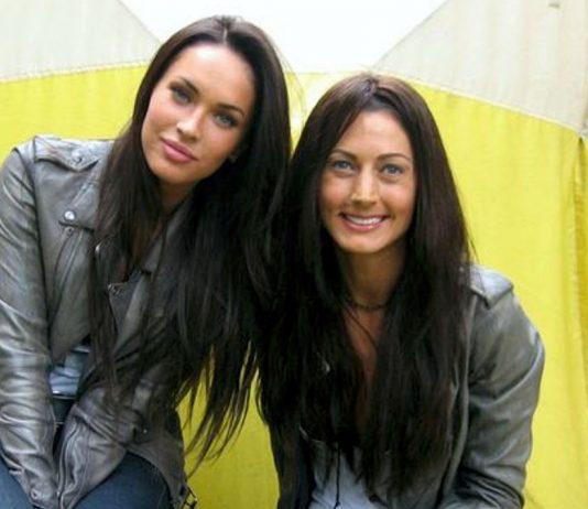 Megan Fox and Stacey Carino