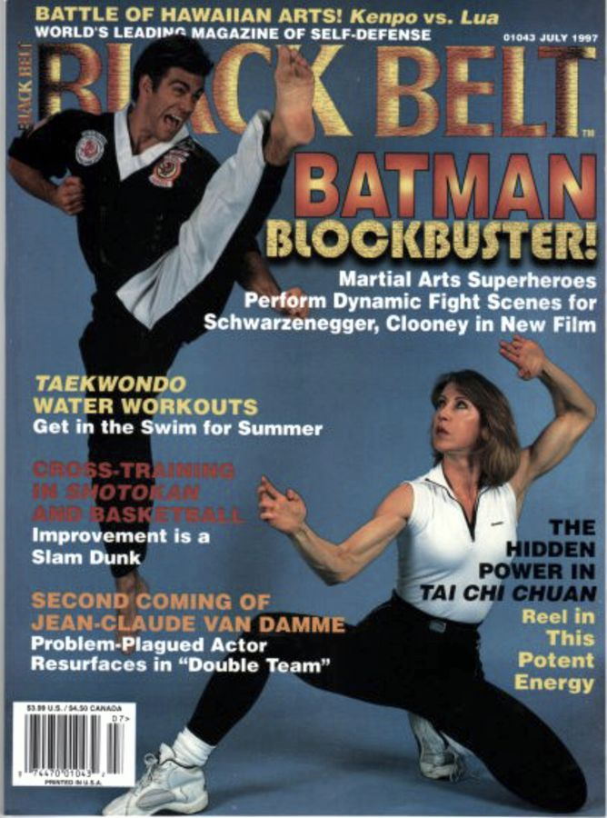 Cheryl Wheeler on the cover of Black Belt Magazine