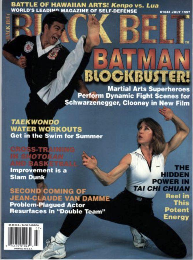 Cheryl Wheeler on Black Belt Magazine