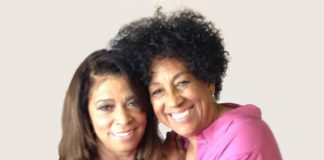 Kym Washington and Jadie David