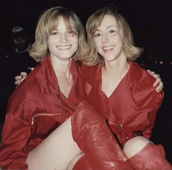 Darlene Vogel and Cheryl Wheeler on Back to the Future (1989).
